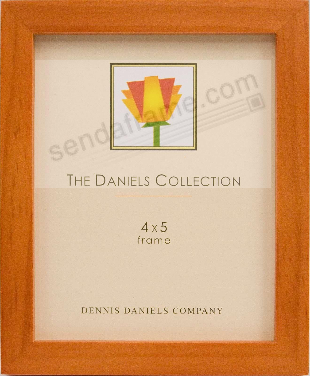 The Original DANIELS W41: Square Cornered ESSENTIALS cherrywood-stain by Dennis Daniels®
