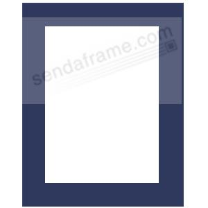 navy blue matfits 11x14 frame displays 8x10 print picture frames photo albums personalized and engraved digital photo gifts sendaframe