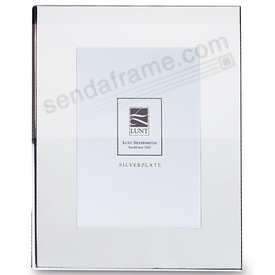 lunt silver wide border styling 5x7 frame