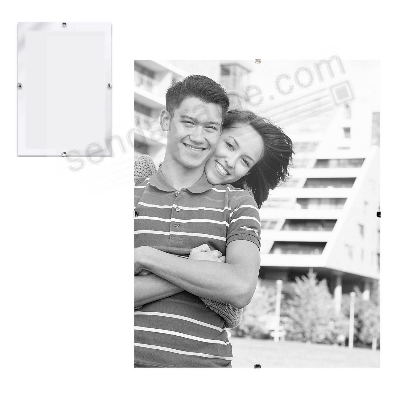 Our frameless glass clip 9x12 frame picture frames photo albums our frameless glass clip 9x12 frame jeuxipadfo Image collections