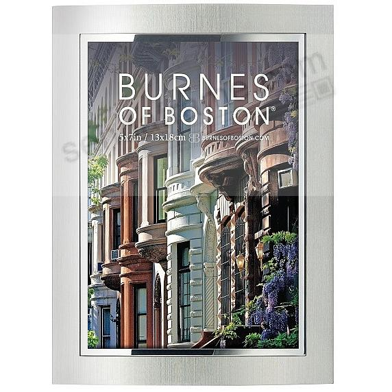 The Original CITY LIGHTS silver-on-silver 5x7 style by Burnes®