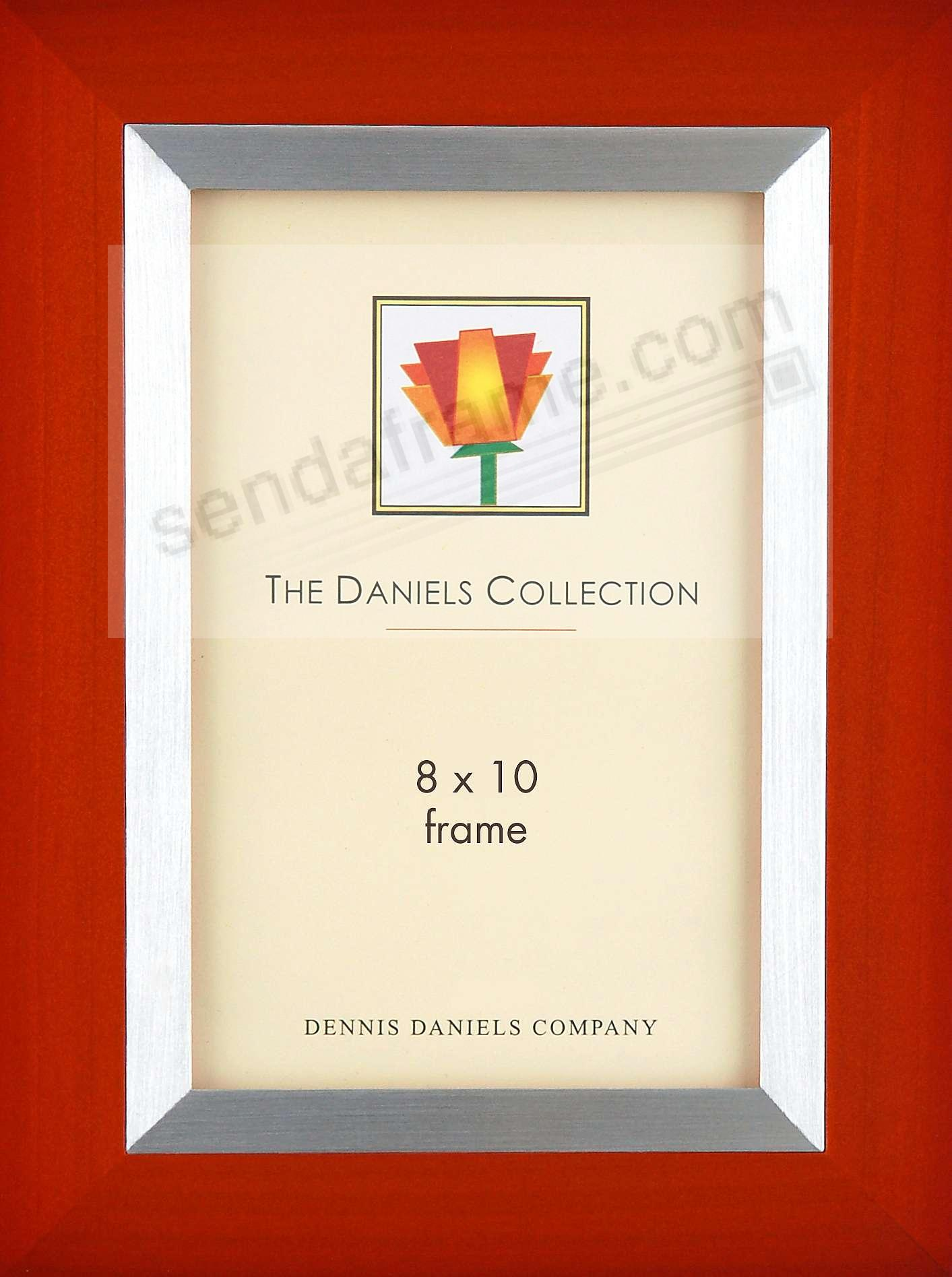 CARMINE RED wood with aluminum inlay by Dennis Daniels® - Picture ...