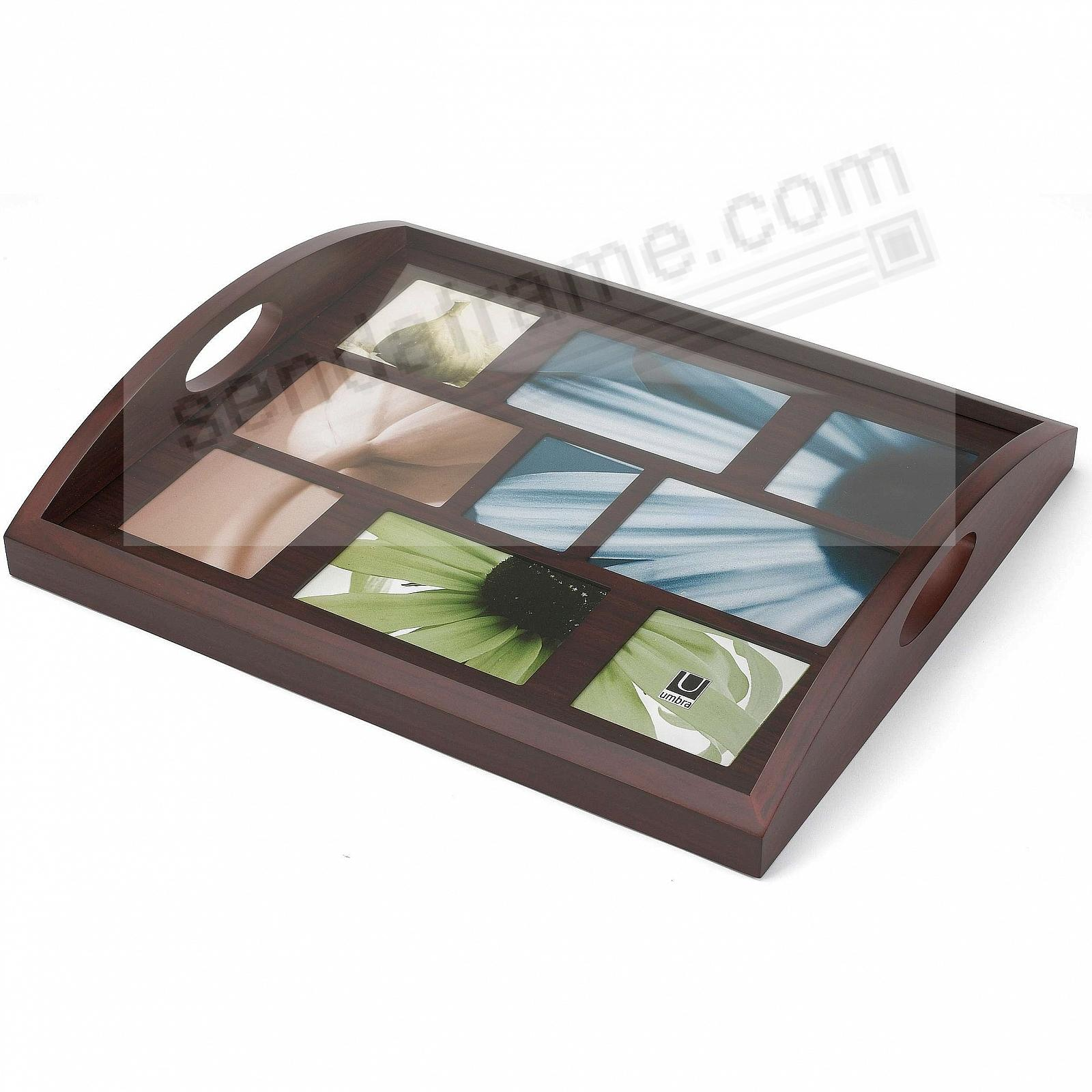 Host Serving Tray By Umbra In Espresso Grain Wood