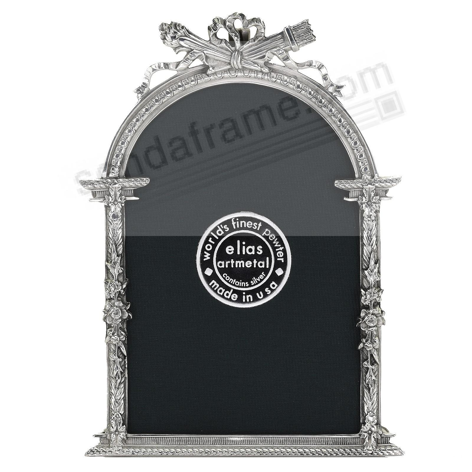 FRENCH ARCH Silvered Pewter<br>by Elias Artmetal®