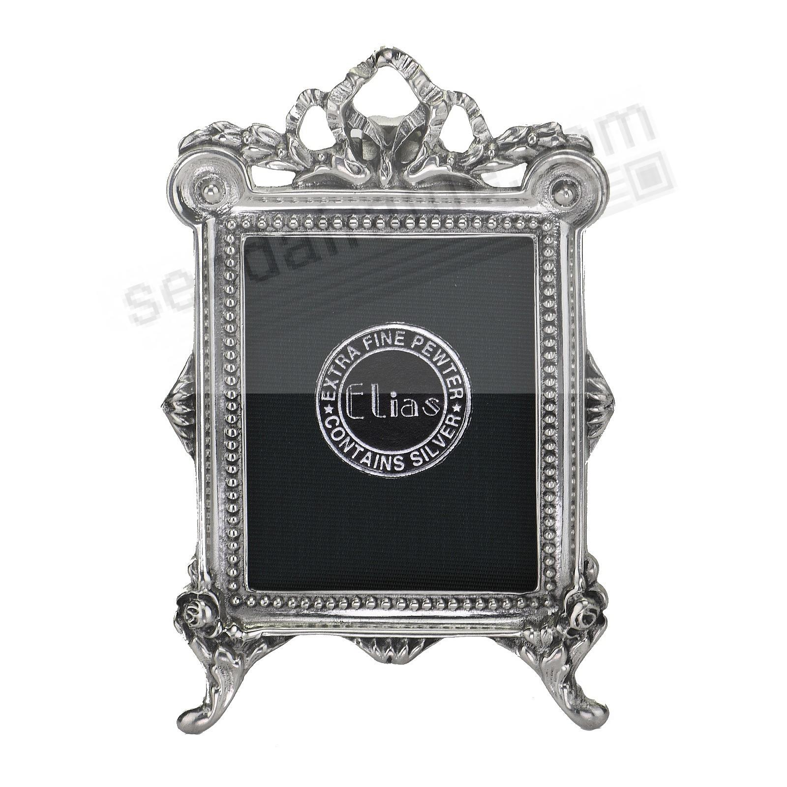ENGLISH PEDESTAL silvered Fine Pewter by Elias Artmetal®