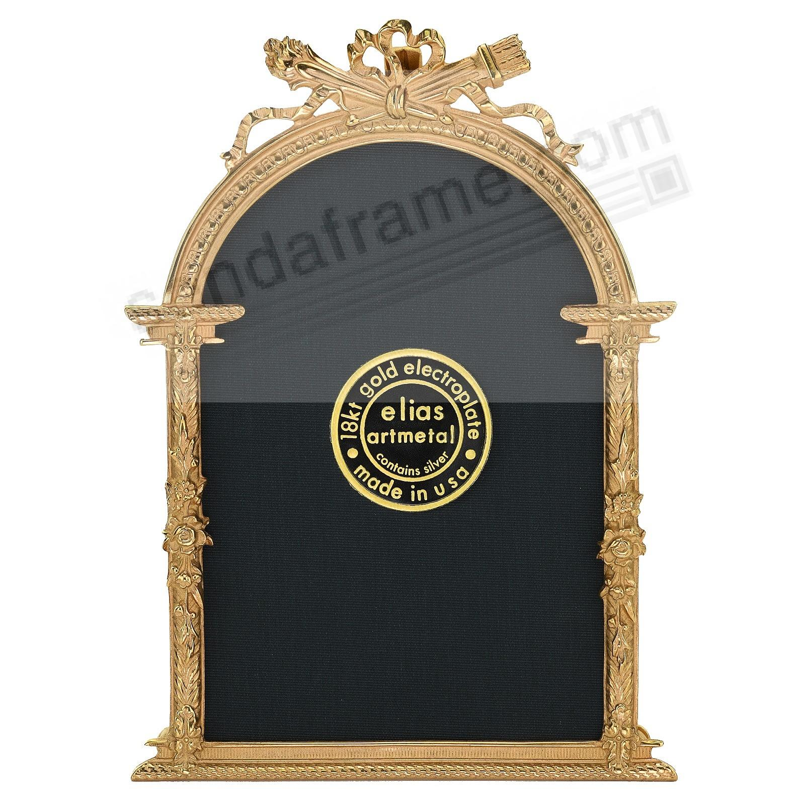 FRENCH ARCH 18kt Museum Gold over Fine Pewter<br>by Elias Artmetal&reg;