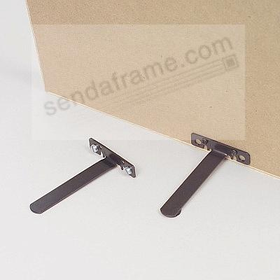 EaselMate™ is the easy way to stand your 'wall' frame (pkg of 2)
