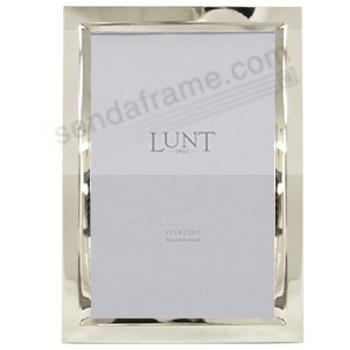 Beveled Fine .925 Sterling Silver 5x7 frame by Lunt® - Picture ...