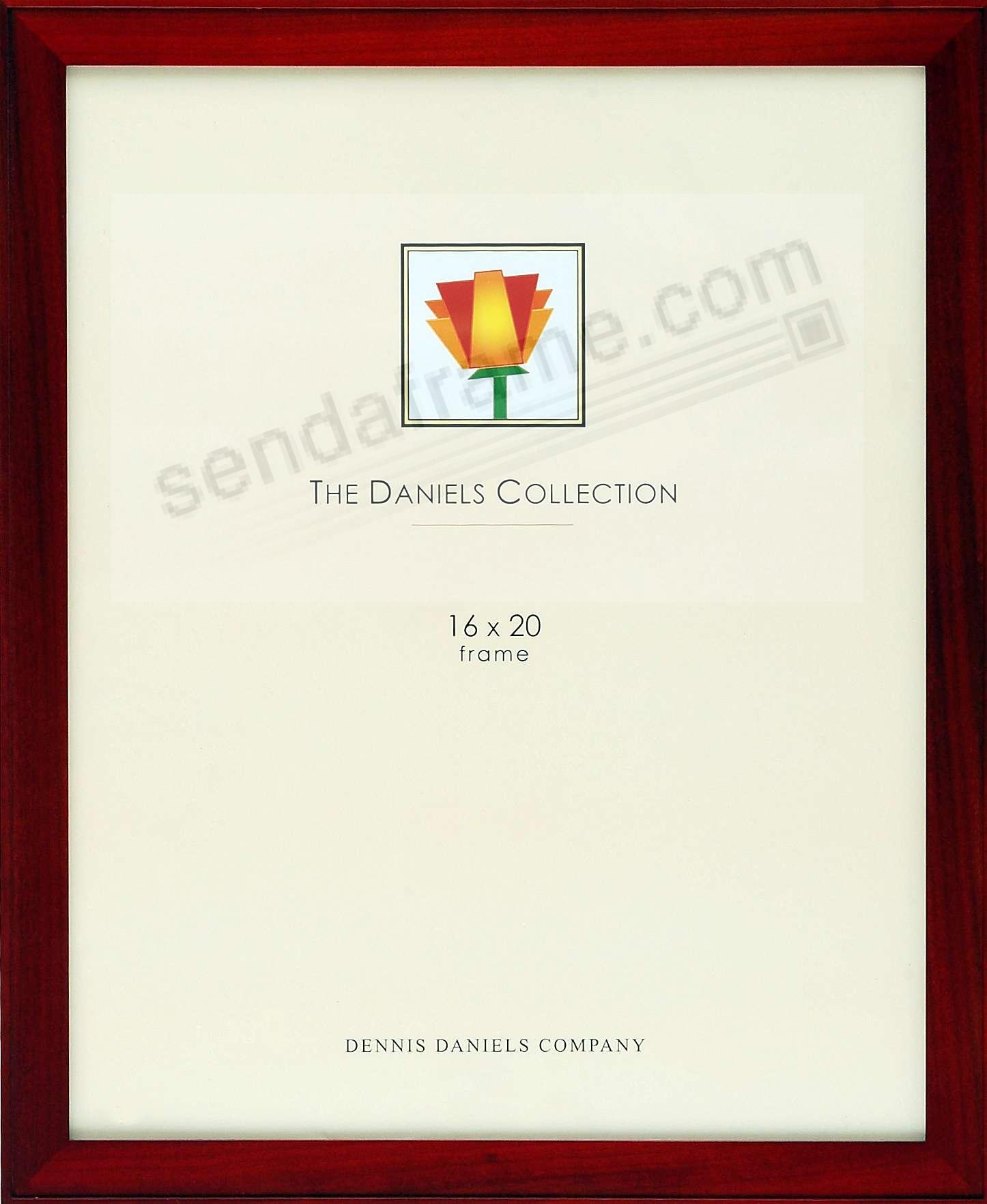 ONE-STEP gallery style rosewood frame by Dennis Daniels®