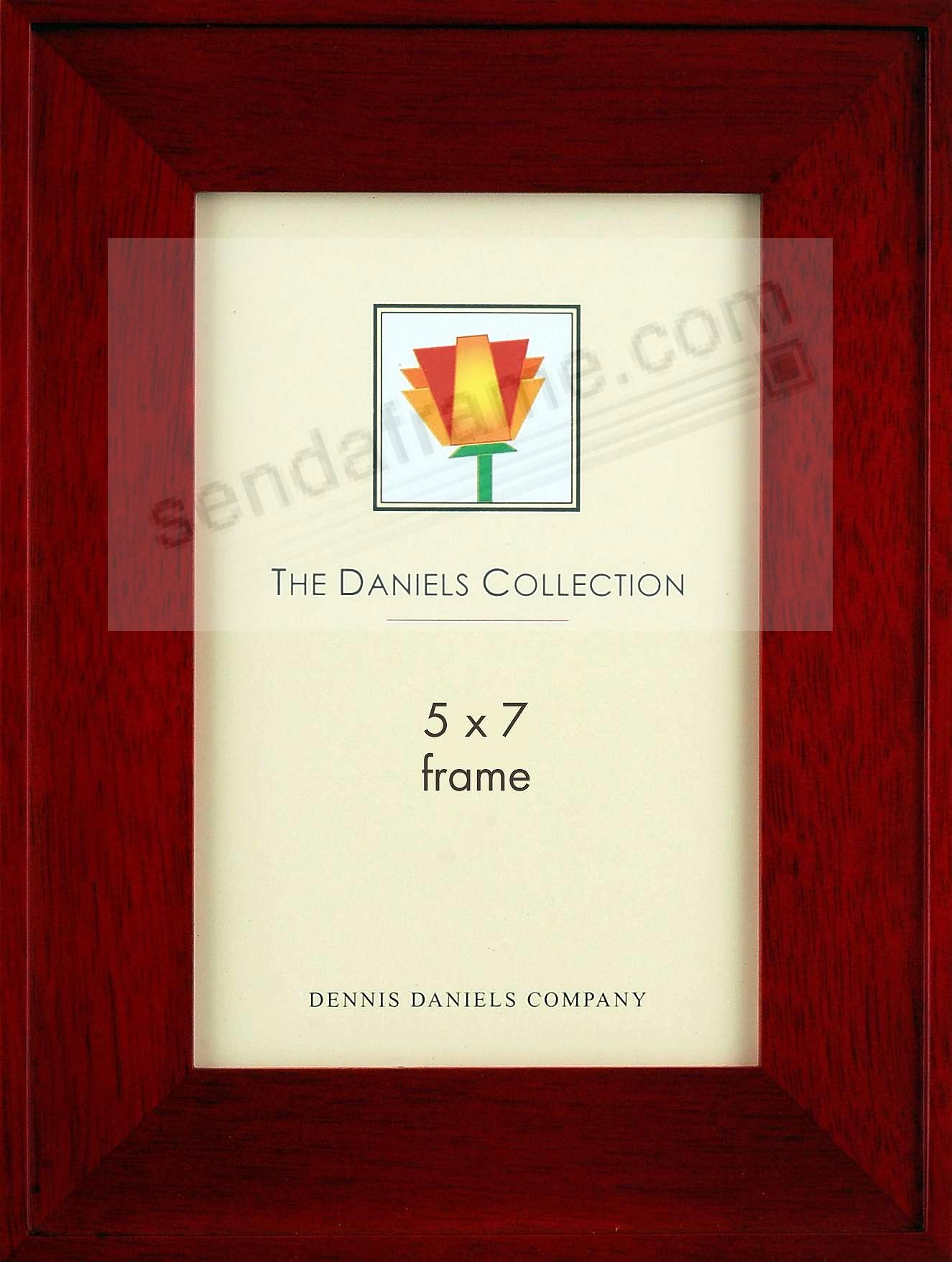 ONE-STEP gallery style frame in rosewood  by Dennis Daniels®