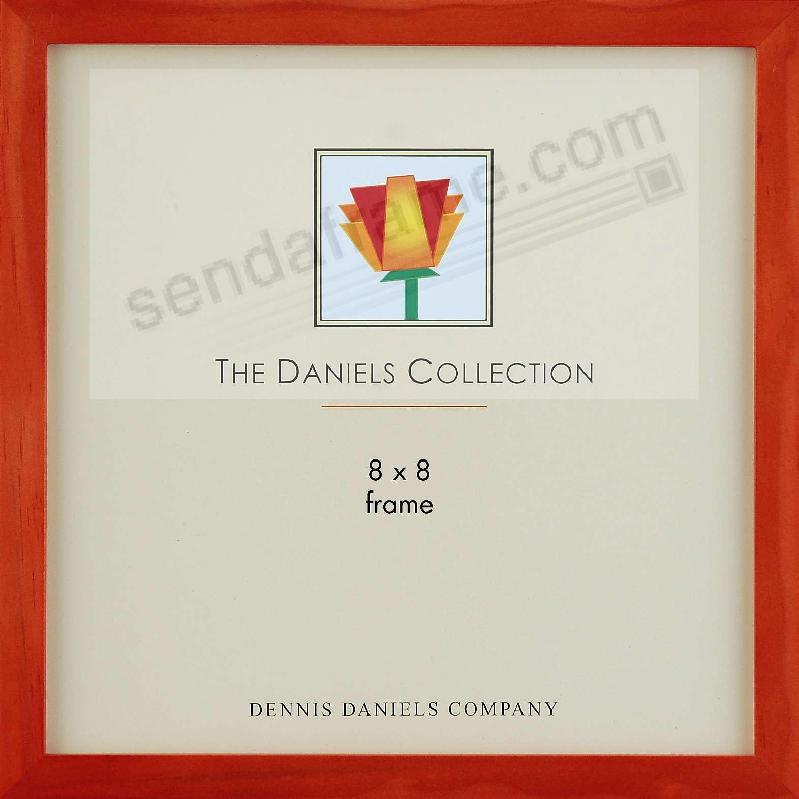 The Original DANIELS W41: Square Corner GALLERY WOODS Cherry finish 8x8 frame by Dennis Daniels®