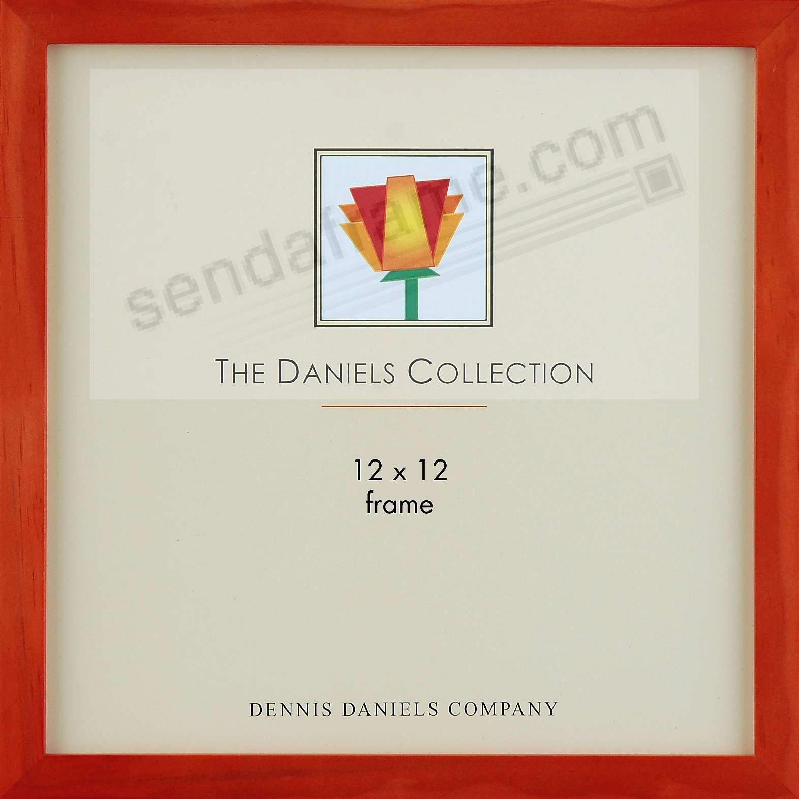 The Original DANIELS W41: Cherry wood square corner classic 12x13 by Dennis Daniels®