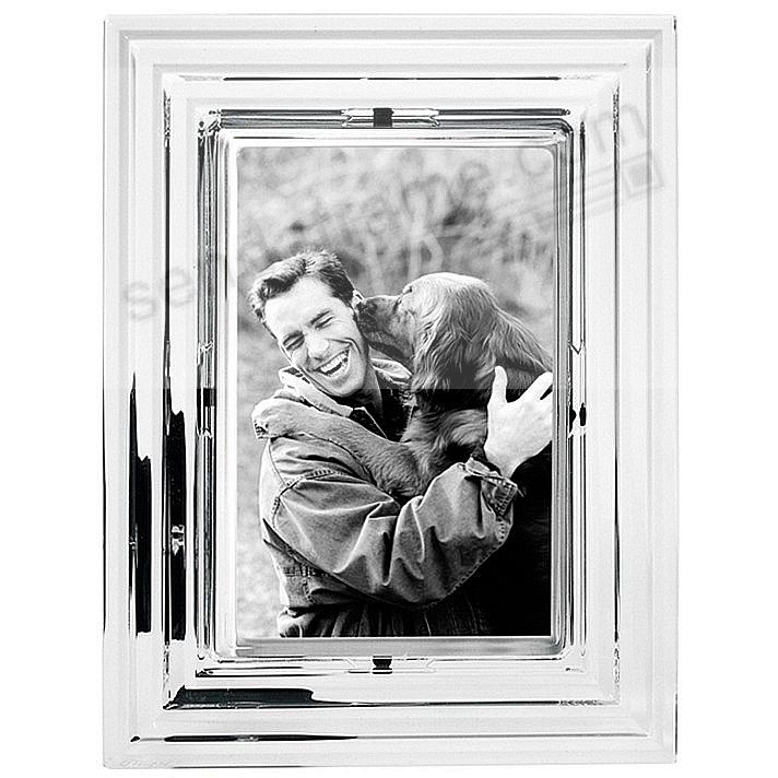 FAMILY & FRIENDS Brilliant Crystal 4x6 frame by Orrefors® - Picture ...