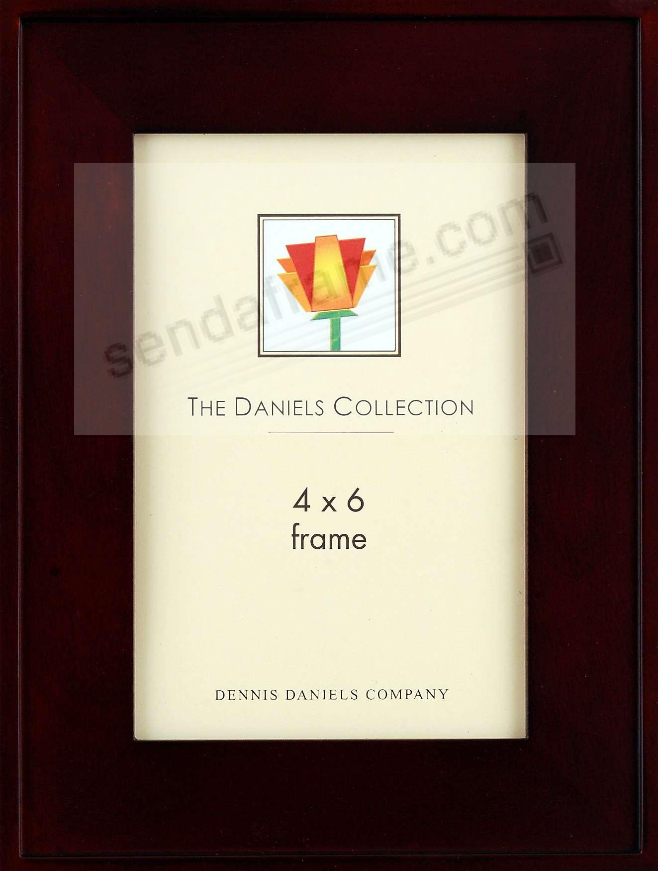 ONE-STEP gallery style frame in walnut  by Dennis Daniels®