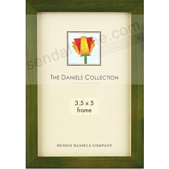 The Original DANIELS W41: Square Corner GALLERY WOODS Green oak by Dennis Daniels®