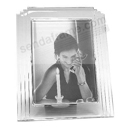 METROPOLITAN fine crystal by 5x7 Waterford - Picture Frames, Photo ...