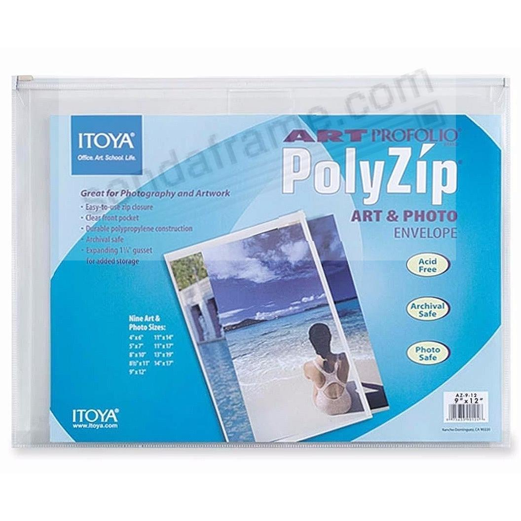 Art Profolio® brand PolyZip™ 5x7 Envelopes by Itoya® (sold in 6s)
