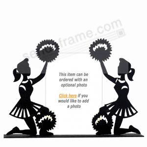 cheerleaders silhouette frame by burnes of boston