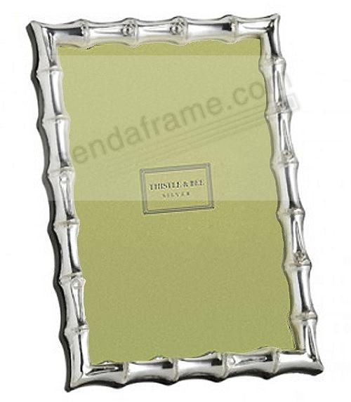 BAMBOO luxe sterling silver by Thistle & Bee® - Picture Frames ...