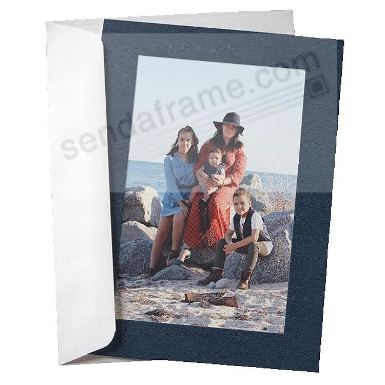 SIMPLICITY NAVY BLUE Photo Insert Card (sold in 10s)