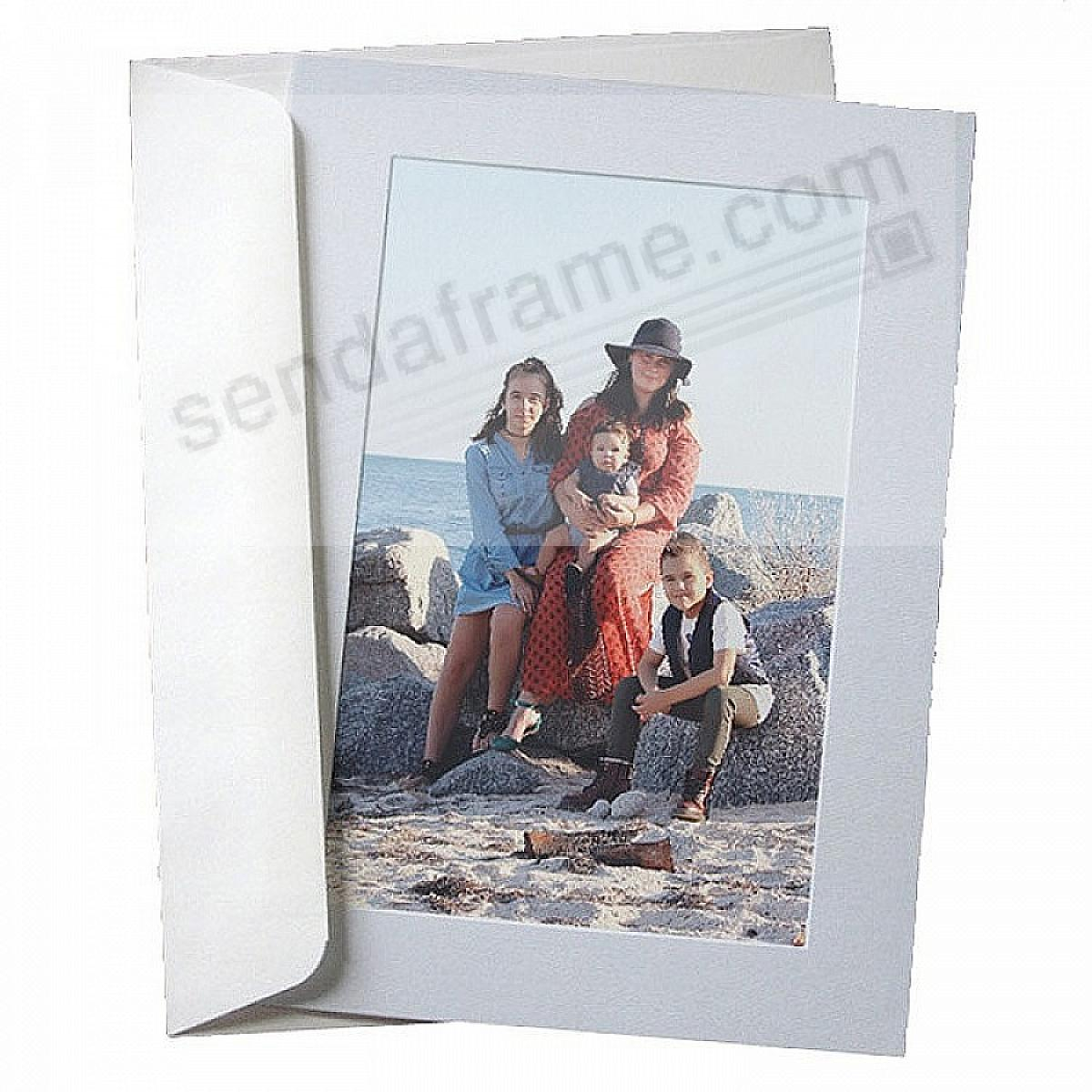 SIMPLICITY PALE-BLUE Photo Insert Card (sold in 10s)
