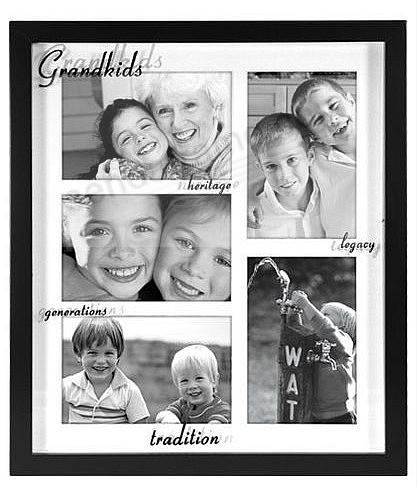 GRANDKIDS reflection shadow collage - displays 5 - Picture Frames ...