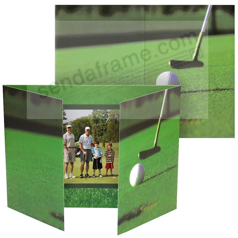 Golf gate-fold event<br>6x4 photo folders (sold in 25s)