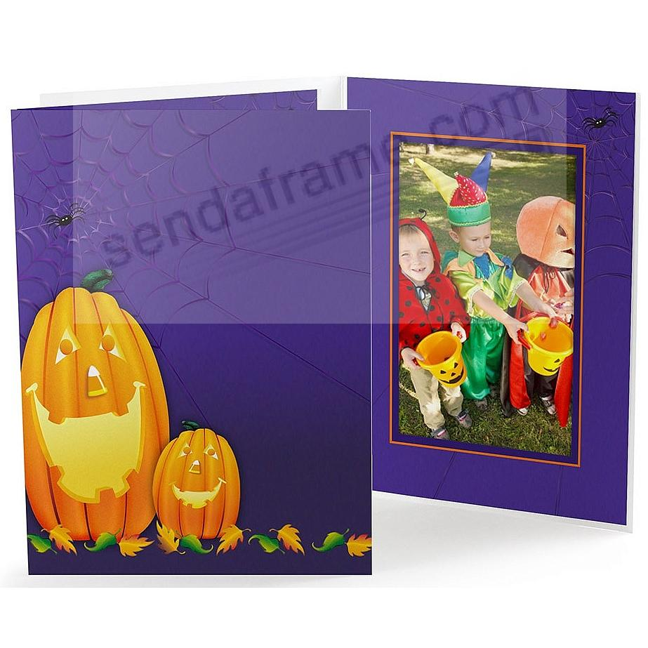 Halloween Pumpkin Event<br>Photo Folder (sold in 25s) - Quick Ship!