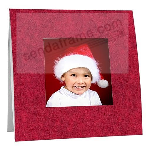 RED BORDER Polaroid™ easel frame (sold in 25s)
