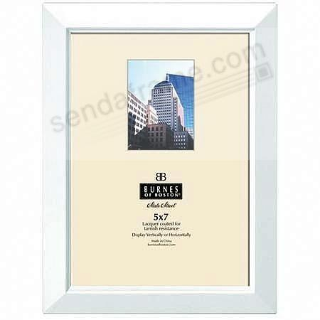 The Original NAPA bevelled 5x7 frame in nautical-white by Burnes of ...