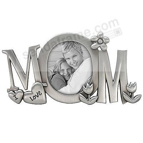 i love mom special metallic frame by malden - Mom Picture Frame