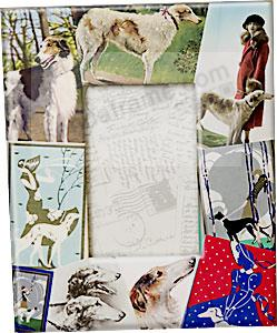 Vintage BORZOI breed design by Blankety Blank™