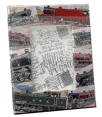 For the Railroad Buff<br> vintage TRAINS by Blankety Blank&trade;