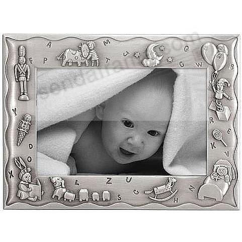 SWEET DREAMS in pewter for the newborn's room