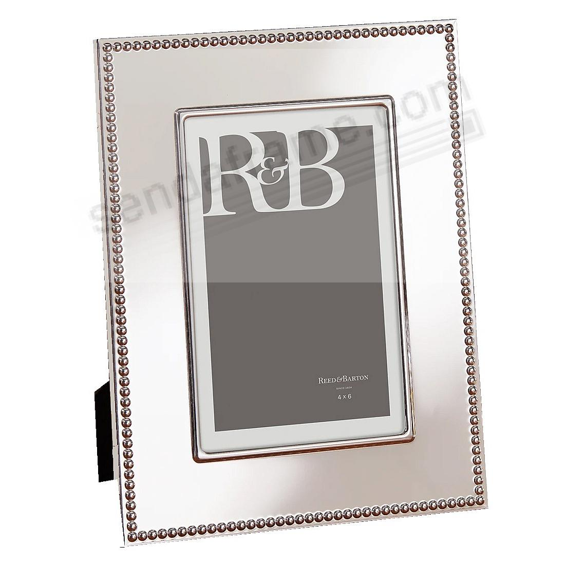 Engraveable LYNDON 4x6 frame by Reed & Barton®
