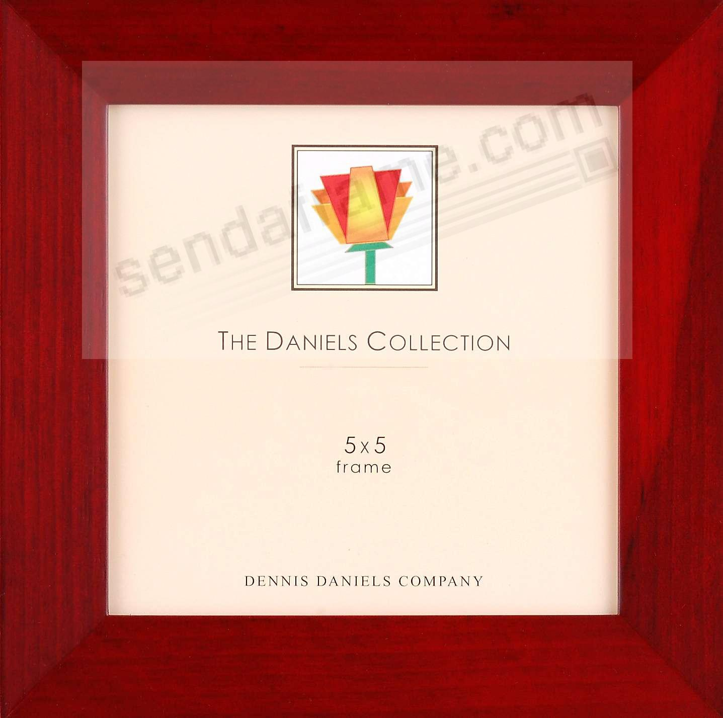 Rich dark bevelled rosewood classic by Dennis Daniels®