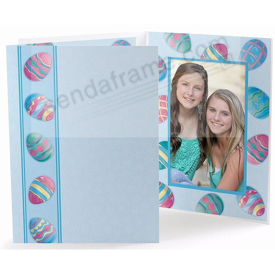 Our Colorful Easter Egg<br>Photo Folder (sold in 25s)