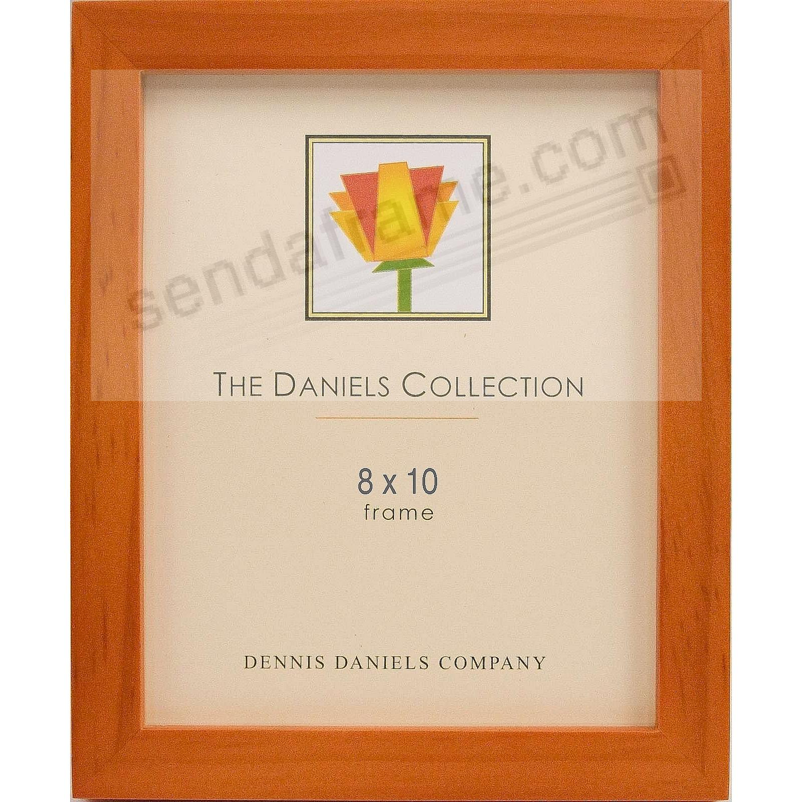 The Original DANIELS W41: Square Corner GALLERY WOODS cherry wood stain by Dennis Daniels®