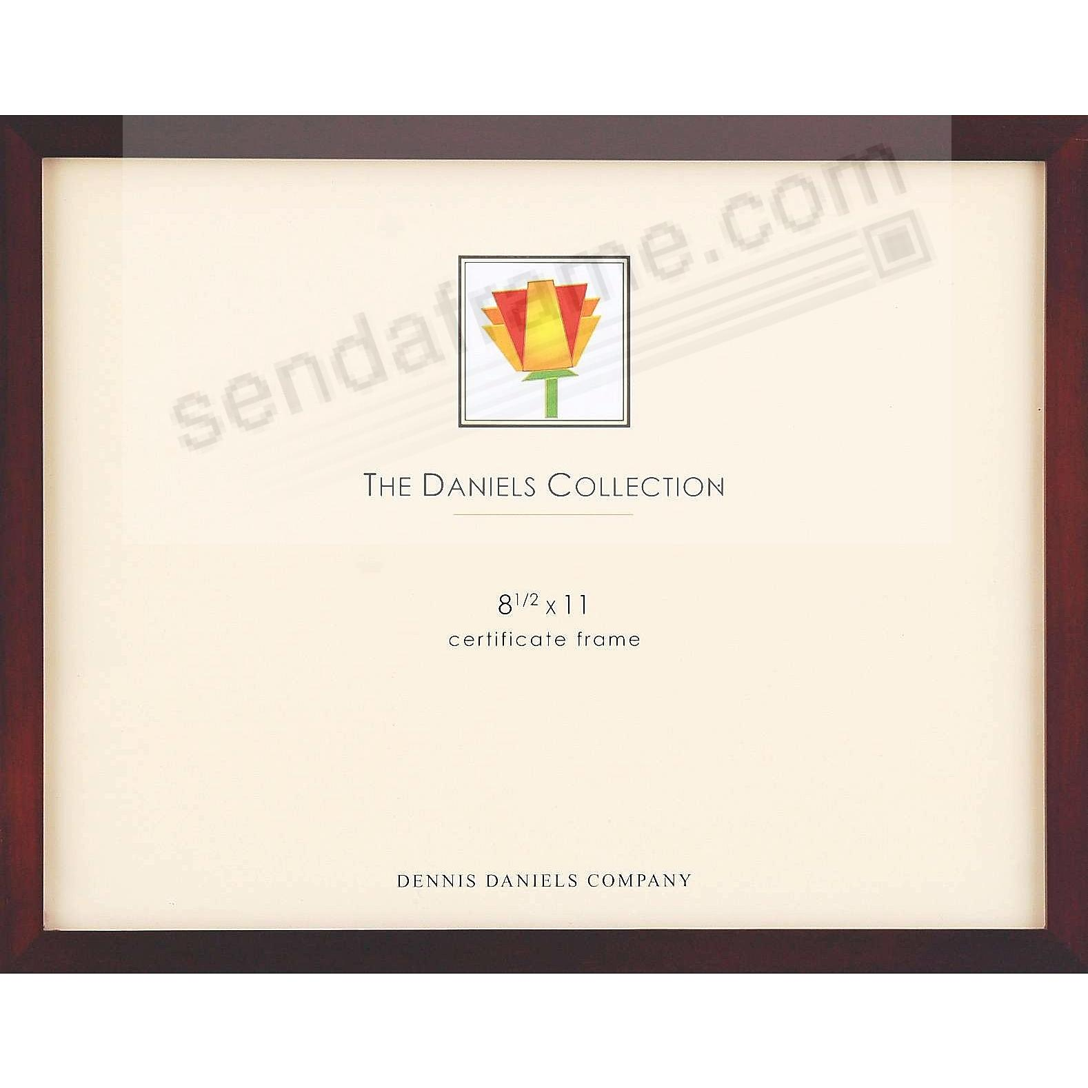Picture frames photo albums personalized and engraved digital the original daniels w41 square corner gallery woods walnutbrown certificate size frame xflitez Choice Image