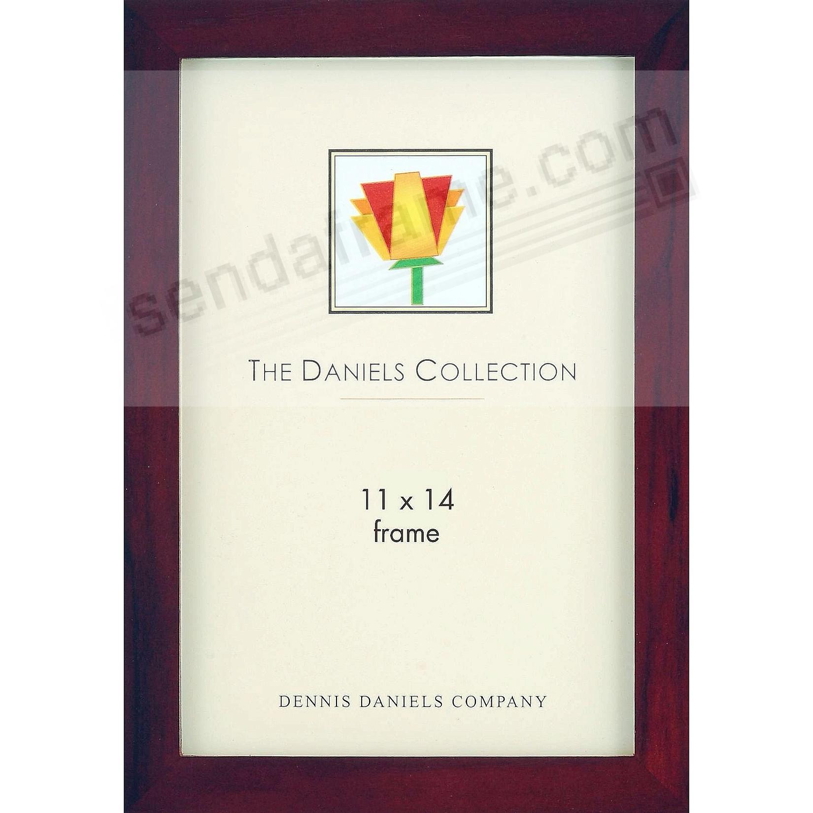 Picture frames photo albums personalized and engraved digital gallery woods dark walnutbrown stained hardwood 11x14 frame by dennis danielsreg magicingreecefo Gallery