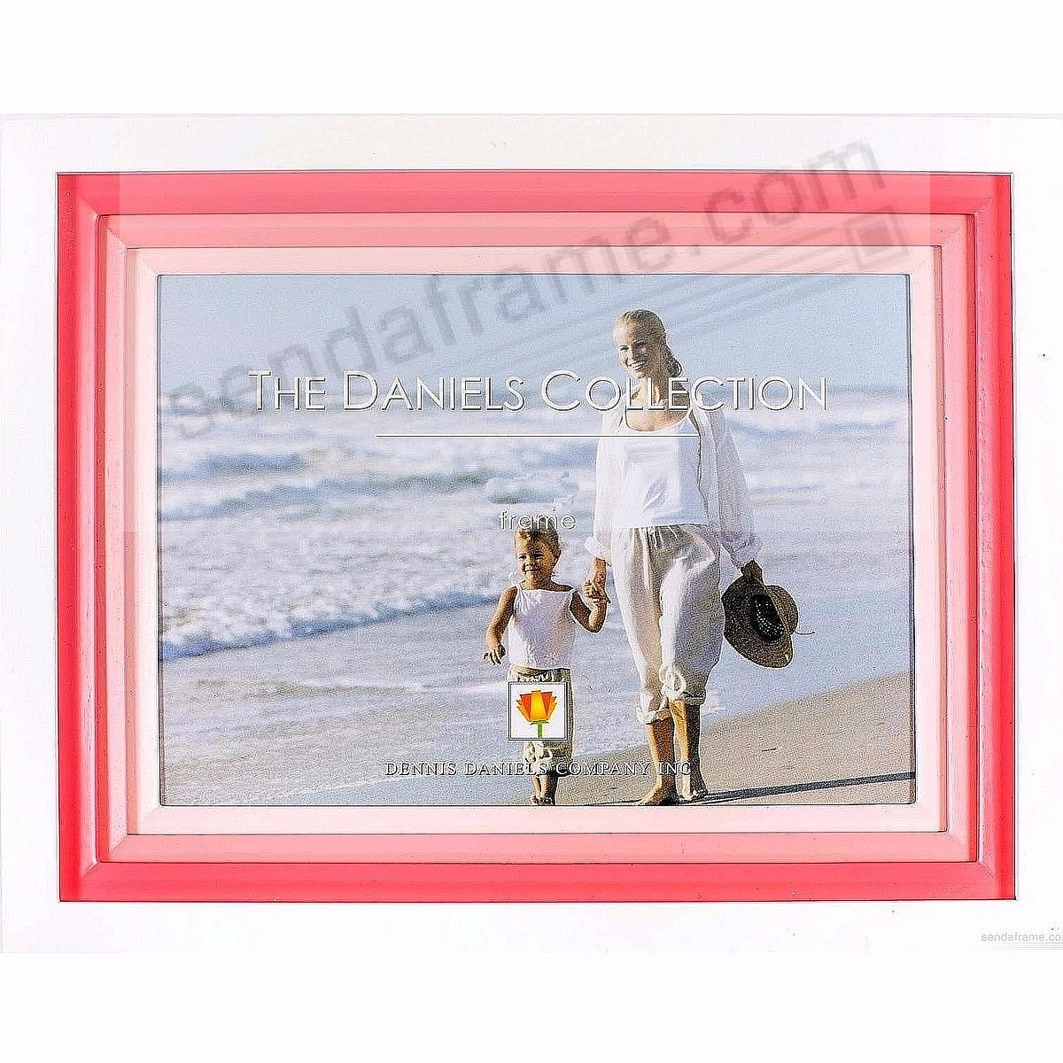 White FOND IMPRESSIONS with triple pink wood mat by Dennis Daniels®
