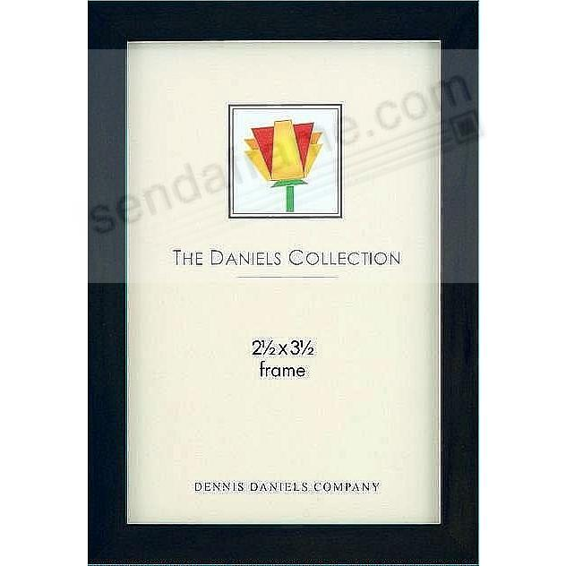 The Original DANIELS W41: Black Square Corner GALLERY WOODS style by Dennis Daniels®