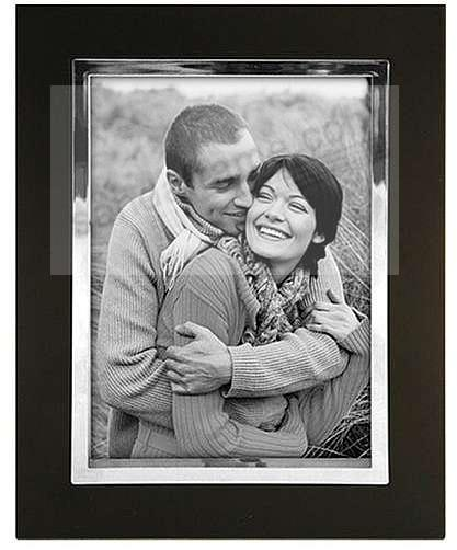 Black SILVER LINING by Malden Design - Picture Frames, Photo Albums ...