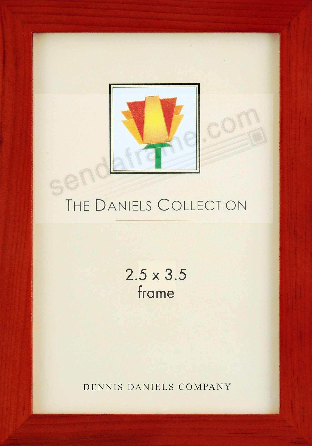 The Original DANIELS W41: Square Corner GALLERY WOODS cherrywood-stain by Dennis Daniels®