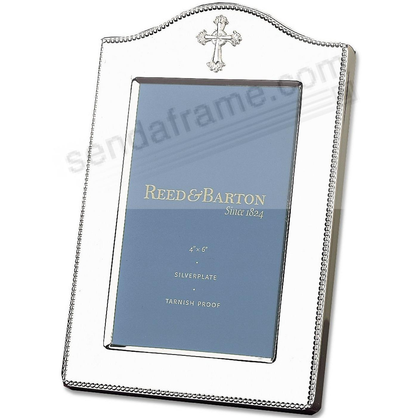 ABBEY silverplate frame for your 4x6 photo by Reed & Barton®