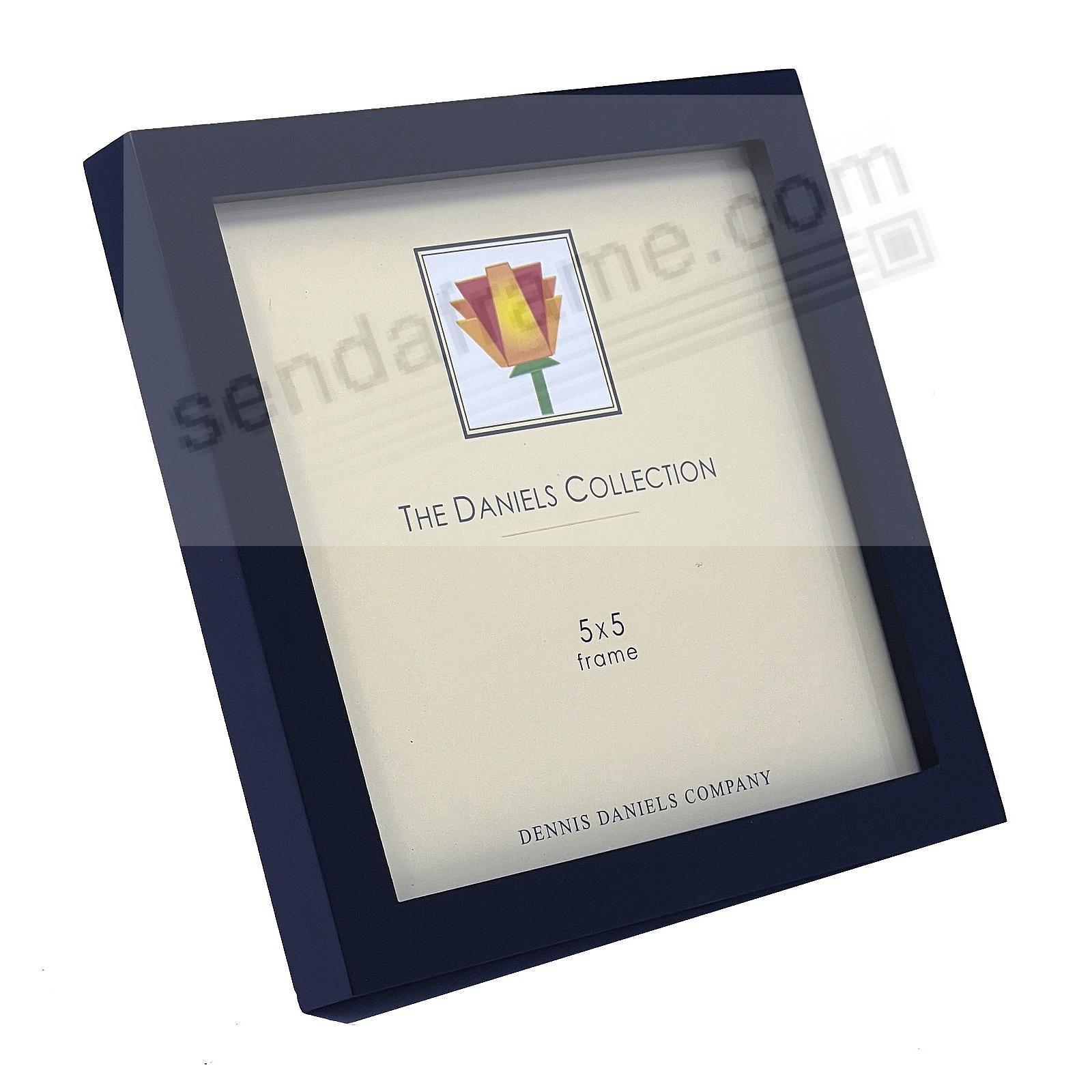 The Original DANIELS W41: Square Corner GALLERY WOODS black 5x5 frame by Dennis Daniels®