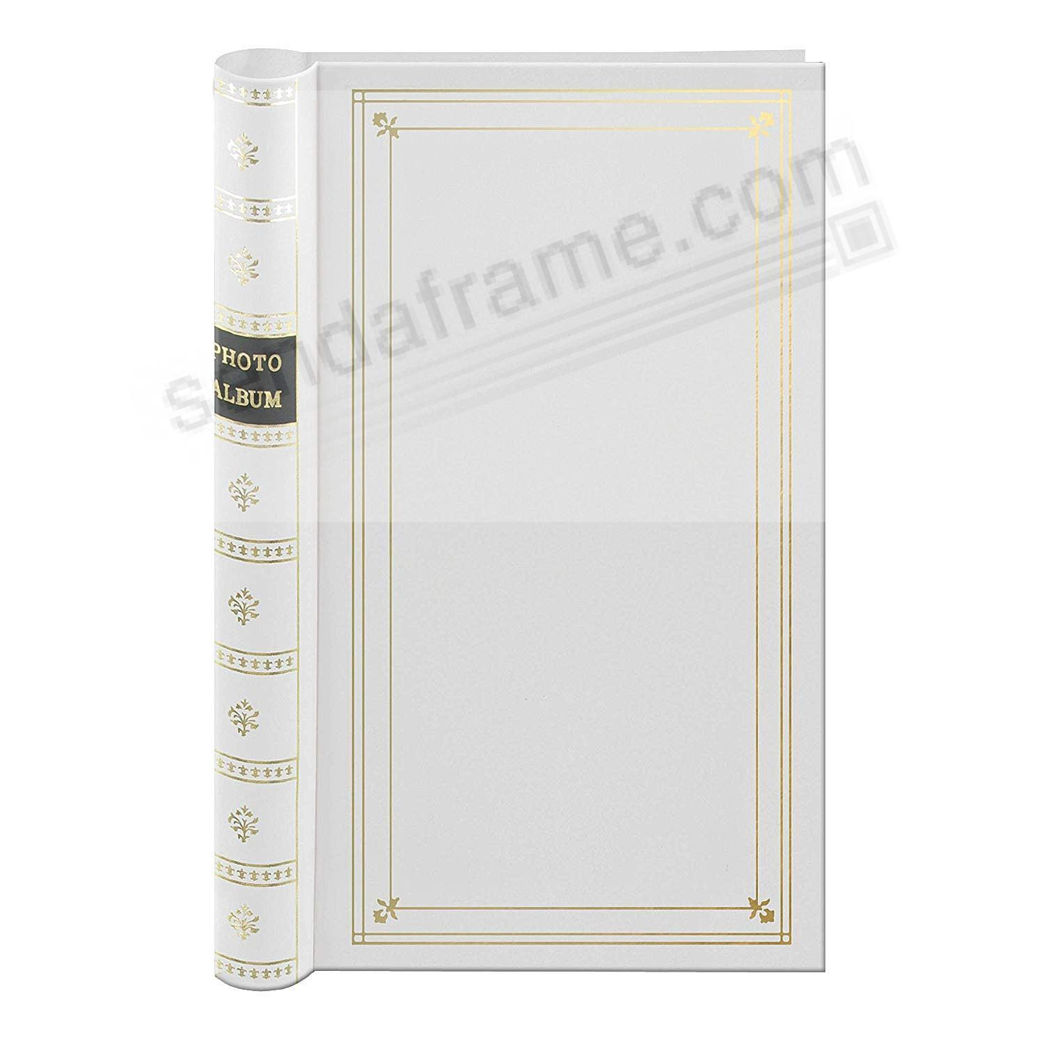 BI-DIRECTIONAL White slide-in pocket albums with Memo
