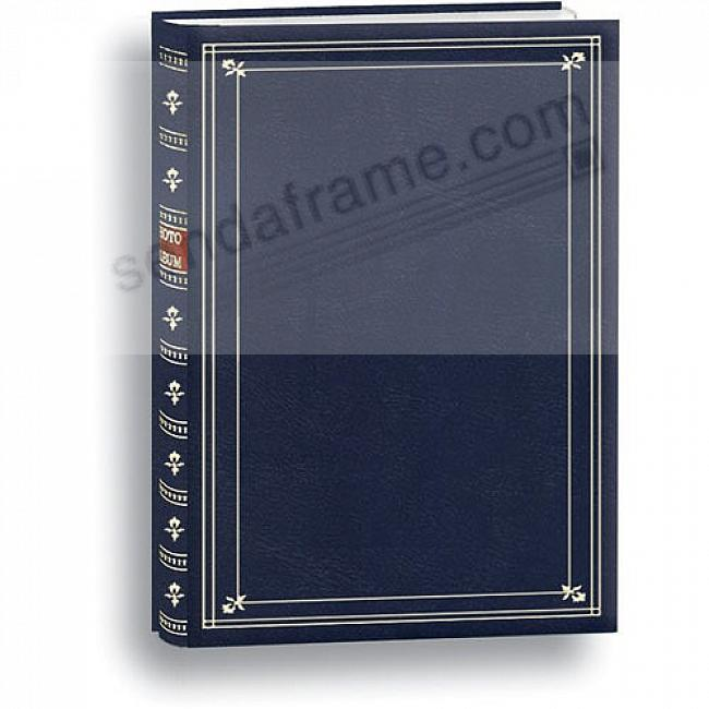 Post Bound BI-DIRECTIONAL Navy Blue memo pocket album - LARGE CAPACITY!
