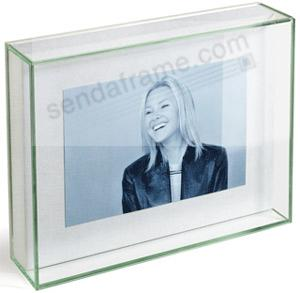 Halo Glass Box Frame By Umbra Picture Frames Photo