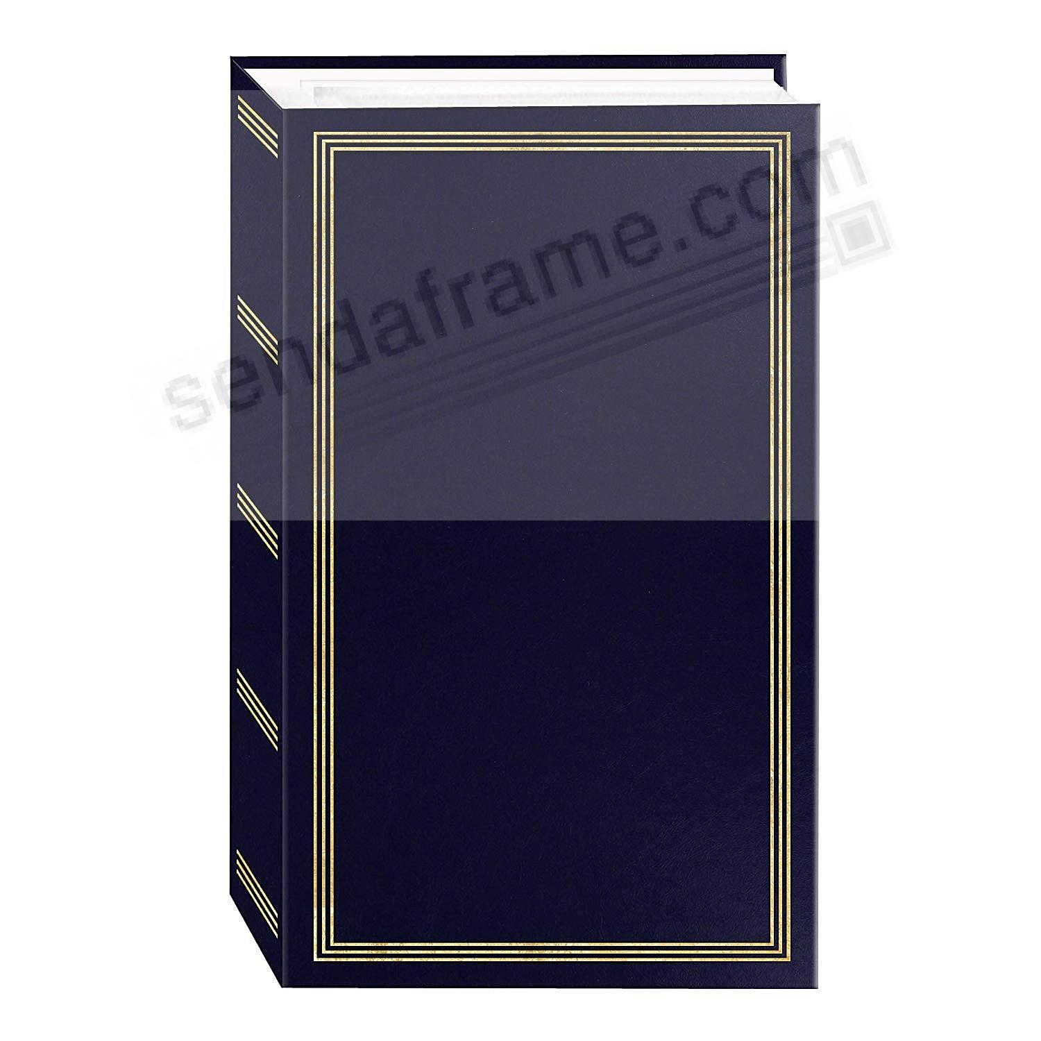 3-ring pocket NAVY-BLUE album for 500+ photos by Pioneer®